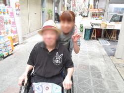 ①職員と共にプ~ラプラ.JPG